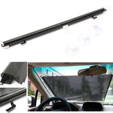 Universal Summer Car Window Insulation Curtain Telescopic Sunshade