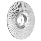 94mm Flat Tungsten Carbide Angle Grinding Wheel 16mm Bore Wood Sanding Polish Carving Disc