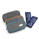 حقيبة تخزين حاقن السفر للحقن مع حقيبة للأيسولين من Medicals Insulinum Cooler Box