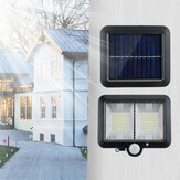 Solar Power COB 98/108 / 120LED Applique murale PIR Motion Sensor Outdoor Garden Lamp