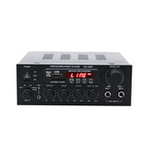 KS-33BT 2x450W Bluetooth Stereo LED Digital Audio Verstärker HiFi USB Speicherkarte Aux FM Radio Home