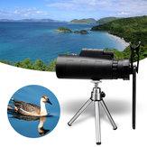 MOGE 50X HD Telescópio monocular de visão noturna + Clipe + Tripé para celular