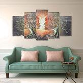 5 لوحات الحديثة مجردة الحب سيدة شجرة قماش اللوحات يطبع جدار الفن ديكور
