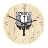 Loskii CC050 Creative Wall Clock Mute Wall Clock Quartz Wall Clock For Home Office Decorations