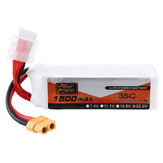 ZOP Power 22.2V 1500mAh 35C 6S Lipo Батарея XT60 Разъем для FPV RC Дрон