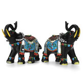 Elephant Resin Home Decorations Right Or Left Home Decor Figurines Art Crafts For Home For Coffee Bar