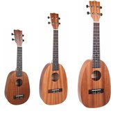 NAOMI 21/23/26 Zoll 4 String Ananas geformt Sapele Ukulele Musikinstrument