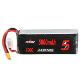 URUAV 14.8V 5000mAh 100C 4S Lipo البطارية XT60 Plug for RC Racing Drone