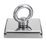 300KG D75 Super Fishing Recovery Block 304 Magnet Eyebolt M10 Ring Metal