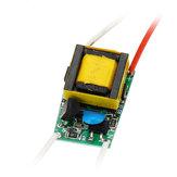 5W LED Ingresso driver AC110 / 220V a DC 15-18V Alimentatore integrato Illuminazione regolabile per lampade fai-da-te LED