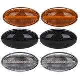 Dynamic LED Side Marker Lights Amber Color for MINI Cooper R50 R52 R53