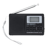 Portable Digital Full Band AM FM SW MW LW Radio Receiver Alarm Clock
