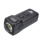 NITECORE TUP XP-L HD V6 1000LM Rechargeable LED Keychain Light OLED Display Intelligent EDC Pocket Flashlight