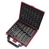 Drillpro 99Pcs High Speed Speed HSS Twist Drill Bit Set 1.0-10.0mm Drill Set for Wood Metal Steel