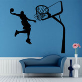 Removable Basketball Dunk Sport DIY Wall Sticker Kids Room Art Decor Decals