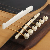 Debbie XZ-A1 Buffalo Bone Bridge Saddle And Nut pour guitare acoustique