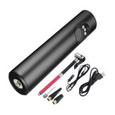 12V 6000mAh Hand-held Air Pump Portable Air Compressor Wireless With LCD