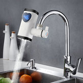 3000W Electric Faucet Tap Instant Hot Water Heater Home Bathroom Kitchen White