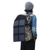 DL-SP30 80W 18V effektiv solpanel soloplader tredobbelt taske foldbar solcellebankpaneloplader