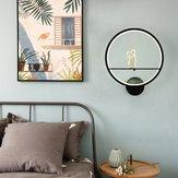 Modern Acrylic Couple Light LED Lamp Nordic Led Belt Room Wall Decor 20cm