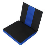 45x41x5cm Chair Wheel Chair Cushion 3D Net Cloth Sponge Back Support Pain Relief Office Seat