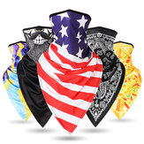 Motorcycle Sun-protection Ice Silk Breathable Pattern Summer Outdoor Riding Motocross Face Mask