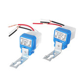 2PCS Waterproof 10A Automatic ON/OFF Road Light Switch Photoswitch Sensor Photocell Lamp AC110V AC220V