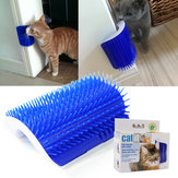 Pet Products Cats Supplies Massage Device Self Groomer Furniture Scratching Post Pet Brush