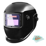 New Solar Powered Auto Darkening Welding Helmet Grinding Welder Mask Black Welding Mask