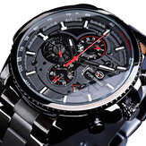 Forsining GMT1137 Week Month Display Mechanical Watch