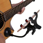 Debbie GS05 Phone Support Holder Stand with Ball-joint 360° Rotation Flexible Pole Suction Cup for Guitar