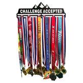 チャレンジ承認スポーツメダルハンガーホルダーメダルディスプレイラックホームオーガナイザーデコレーション