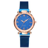 Montre Femme DEFFRUN A312 Design Simple Milanese Acier Star