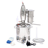 30L Stainless Steel Alcohol Distiller Brew Kit Distillation Purifying Alcohol Brewing Alcohol Making Boiler