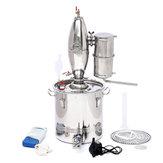 Destilador de Álcool de Aço Inoxidável 30L Kit de Destilação de Álcool Purificador de Cerveja Que Faz Caldeira