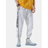 Mens Trend Loose Street Hip-Hop Beam Feet Tide Sport Pants