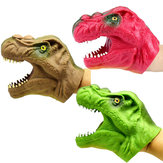 8CM TPR Plastic Dinosaur Hand Puppet Toy Novelties Toys Wearable Animal Toys