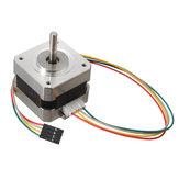 2 stks 42mm 12V Nema 17 tweefasige stappenmotor voor 3D-printer