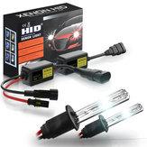 2 pezzi di fari allo xeno HID per auto nascosti lampada Super mini lampadine allo xeno impostate 55W 3200LM 6000K / 8000K