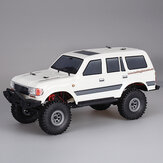1/18 2.4G Mini Indoor Off-road Truck RC Car Waterproof ESC Motor 3Line Servo Vehicle Models Rock Crawler