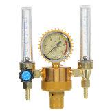 الأرجون الضغط تخفيض منظم الضغط المقياس 2 أنبوب ميغ تيج تدفق متر مراقبة صمام