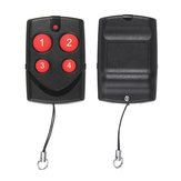 12V Universal 4CH Channel Copy Wireless Remote Control Multi-frequency Learning Code Transmitter