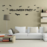 Miico AW9352 Halloween Wall Sticker Removable Sticksrs For Halloween Party Decoration Room Decorations