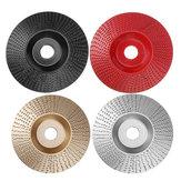 Drillpro 100mm disco in metallo duro per modellare disco in metallo duro disco da 16mm smerigliatrice abrasiva per smerigliatrice angolare 100 115