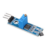 5pcs LM393 3144 Hall Sensor Hall Switch Hall Sensor Module for Smart Car Geekcreit for Arduino - products that work with official Arduino boards