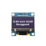 5 piezas Blanco 0.96 Inch OLED I2C Comunicación IIC Pantalla 128 * 64 LCD Módulo Geekcreit para Arduino - productos que funcionan con placas oficiales Arduino