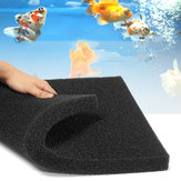 1PCS  Biochemical Filter Foam Fish Pond Filtration Tank Aquarium Sponge Pad Aquarium Filter 50cm