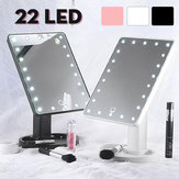 22 LED Lighted Vanity Touch Screen  360° Rotating Cosmetic Makeup