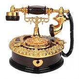 Retro Model telefonu w kształcie serca Pozytywka Ozdoba domowa Ozdoba Pozytywka Zabawka