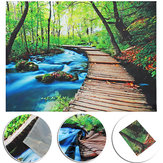 Forest Art Tapestry Wall Hanging Throw Bedspread Beach Towel Cloth Home Decor